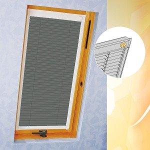 Dachfenster Jalousie mit Seitenschienen für Roto FA 7/9