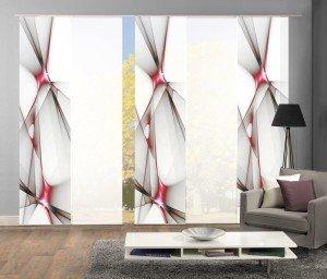 Schiebevorhänge Home Fashion Set Flächenvorhang Kingfield
